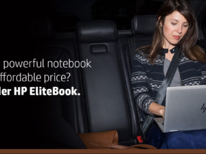 Want a powerful notebook at an affordable price? Consider HP EliteBook.